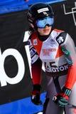 Asa Ando Japonia w kona terenie po drugi bieg gigantyczny slalom obraz royalty free