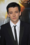 Asa Butterfield Stockfotos