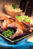 Asa de galinha Foto de Stock