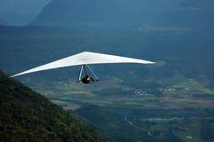 Asa Delta. Men flying with Asa Delta Stock Image