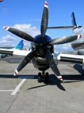 Asa do avião Fotos de Stock