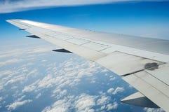 Asa do avião Foto de Stock Royalty Free