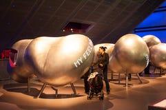 A asa do Wellcome de museu de ciência, Londres, Reino Unido Fotos de Stock