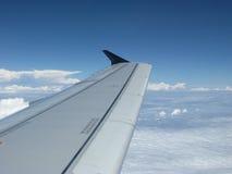 Asa dos aviões Foto de Stock Royalty Free