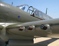 Asa e cabina do piloto de P40 Warhawk Foto de Stock Royalty Free