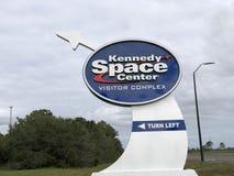 ASA-Logo/-zeichen bei Kennedy Space Center stockfotografie