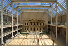 Asa metropolitana do americano do museu de arte Fotos de Stock Royalty Free