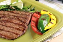 asada carne墨西哥牌照 免版税库存照片