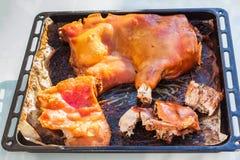 Asada de Lechona un mallorquina de La - rôtissez le style majorquin de porc de nourrisson Images stock