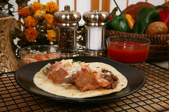 Asada van taco's carne Royalty-vrije Stock Fotografie