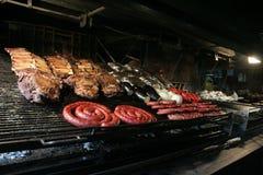 Asado, Argentinië barbaque Stock Fotografie