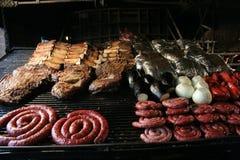 Asado, Argentinien-barbaque Lizenzfreie Stockfotos