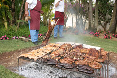 Asado argentino Royalty Free Stock Photo