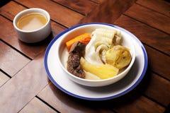 Asado.Handmade Peruvian food Royalty Free Stock Photo