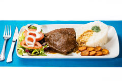 Asado neger- venezuelansk typisk mat Fotografering för Bildbyråer