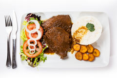 Asado Negro Venezuelan typical food Stock Image