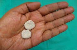 Asafötida-Pillen Lizenzfreie Stockfotografie