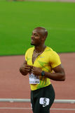 Asafa Powell Stockfoto