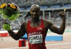Asafa Powell Areva meeting at the Stade de France Stock Photo