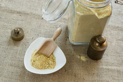 Asafoetida powder Stock Photos