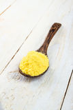 Asafoetida powder Stock Image