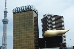 Asahi Beer Tower Images stock