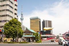 Asahi Biru Kabushiki Building ,Tokyo Royalty Free Stock Photography
