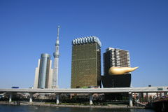 Asahi Breweries Headquarters Photos stock