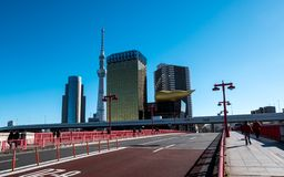 Asahi Breweries Headquarters royalty free stock images