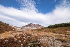 Asahidake-Gipfel stockfotos