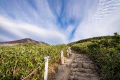 Asahidake-Gipfel Lizenzfreie Stockfotos