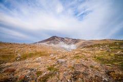 Asahidake-Gipfel stockbilder