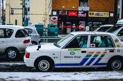 Asahikawa, Hokkaido το χειμώνα Στοκ Εικόνες