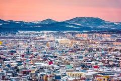 Asahikawa, Hokkaido, Japan Skyline Stock Photography