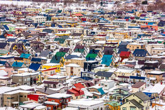 Asahikawa, Japan Town Cityscape Royalty Free Stock Photo