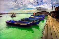 Asain boats Royalty Free Stock Image