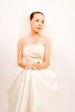 asain bride Royalty Free Stock Photography