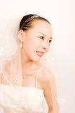 asain bride Royalty Free Stock Photo