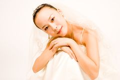 asain bride Stock Photography
