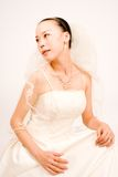 asain bride Royalty Free Stock Photo
