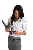 Asain Geschäftsfrau Lizenzfreie Stockbilder