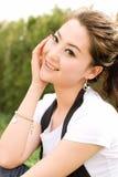Asain girl Stock Image
