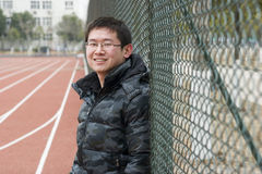 Asain young man Royalty Free Stock Photos