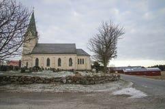 Asak church (south) Stock Photo