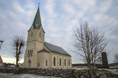 Asak church (south-west) Stock Image