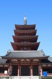 asakusa寺庙东京 免版税库存图片