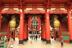 asakusa寺庙 免版税库存照片