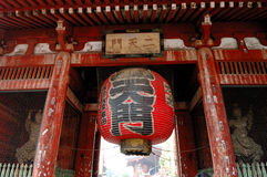 asakusa寺庙 免版税图库摄影