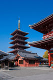 asakusa日本寺庙东京 免版税图库摄影