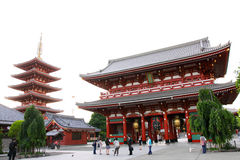 asakusa日本kannon 免版税库存图片